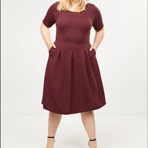 NWT Lane Bryant Fit and Flare dress